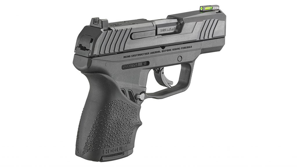 The Hogue Beavertail HandALL grip sleeve conforms to the grip perfectly, for comfort higher on the grip.