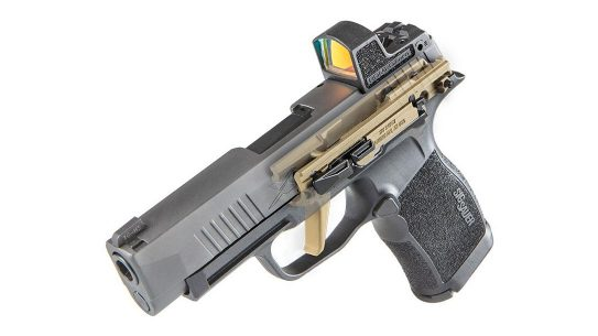 The Sig Sauer P365 FCU is customizable your way.