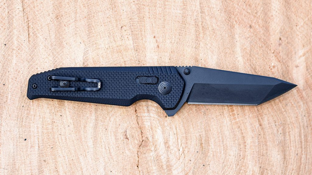With an extremely strong blade and stealthy appearance, the SOG Vision XR will disappear into your pocket for deep concealment.