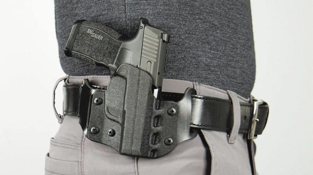 The DeSantis Veiled Partner holster molds to the body for ultimate comfort.