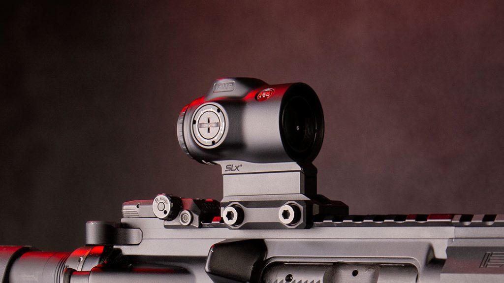 Primary Arms SLX 1X MICROPRISM rifle optics.