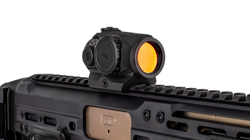 Primary Arms SLX MD-20 MRD rifle red dot optics.