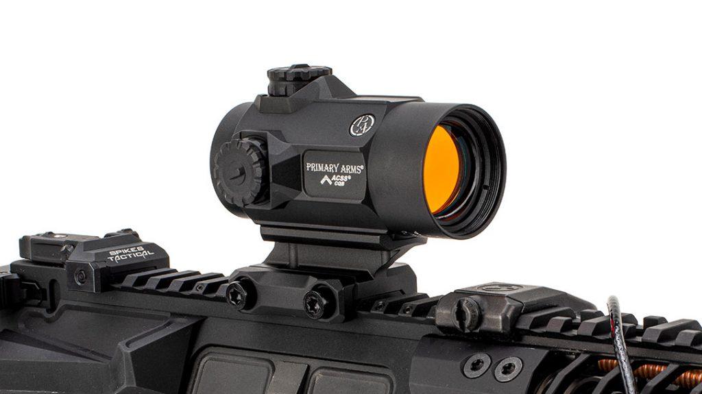 Primary Arms SLX MD-25 ROTARY KNOB MICRODOT optics.