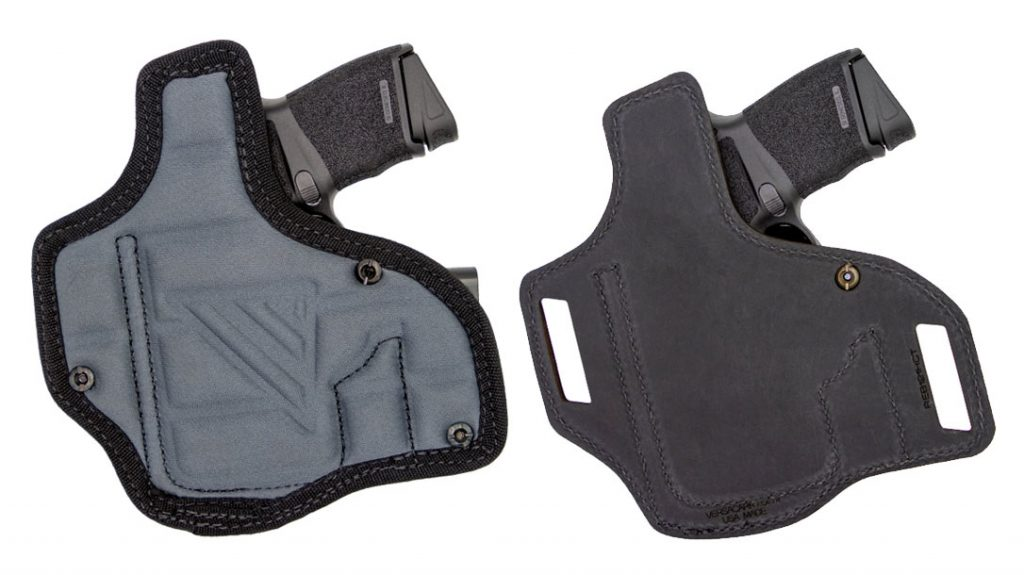 The Versacarry Taurus GX4 Holster features a high backing for both models as well as extra padding for the IWB.