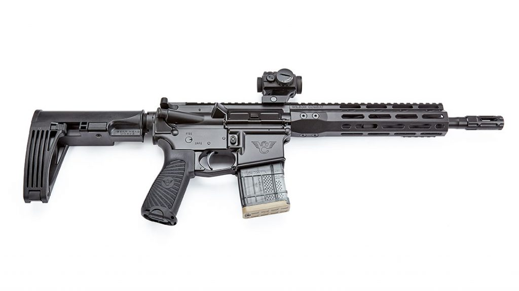 The Protector pistol is chambered in .300 HAM'R for home defense.