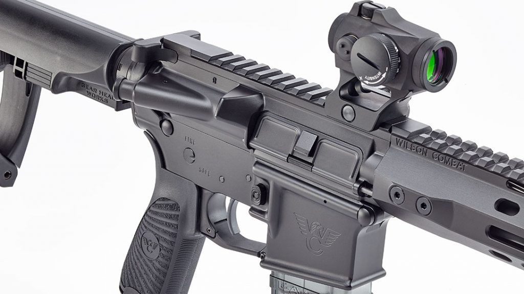 Wilson Combat home defense AR's stand out because they have forged upper and lower receivers instead of billet-crafted versions.