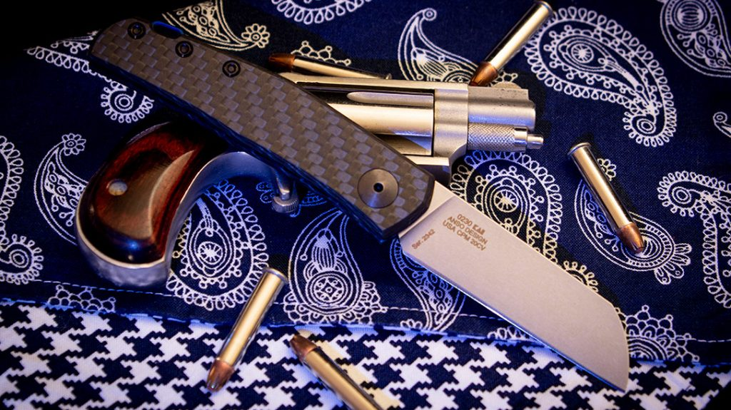 The Zero Tolerance Knives 0230 is elegantly at home in any formal environment.
