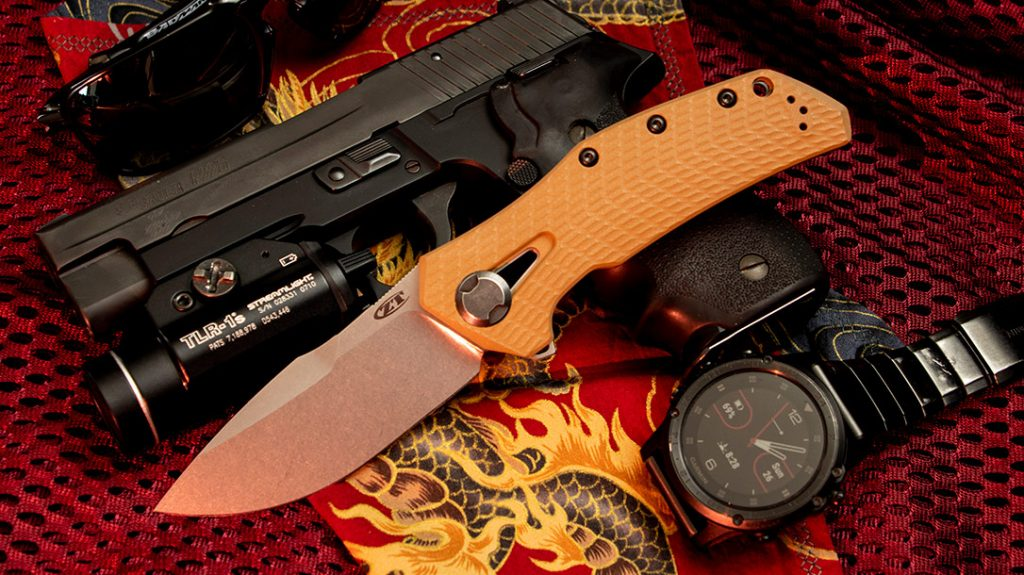The Zero Tolerance Knives 0308 is a beefy, hand-filling EDC knife that is built like a tank.