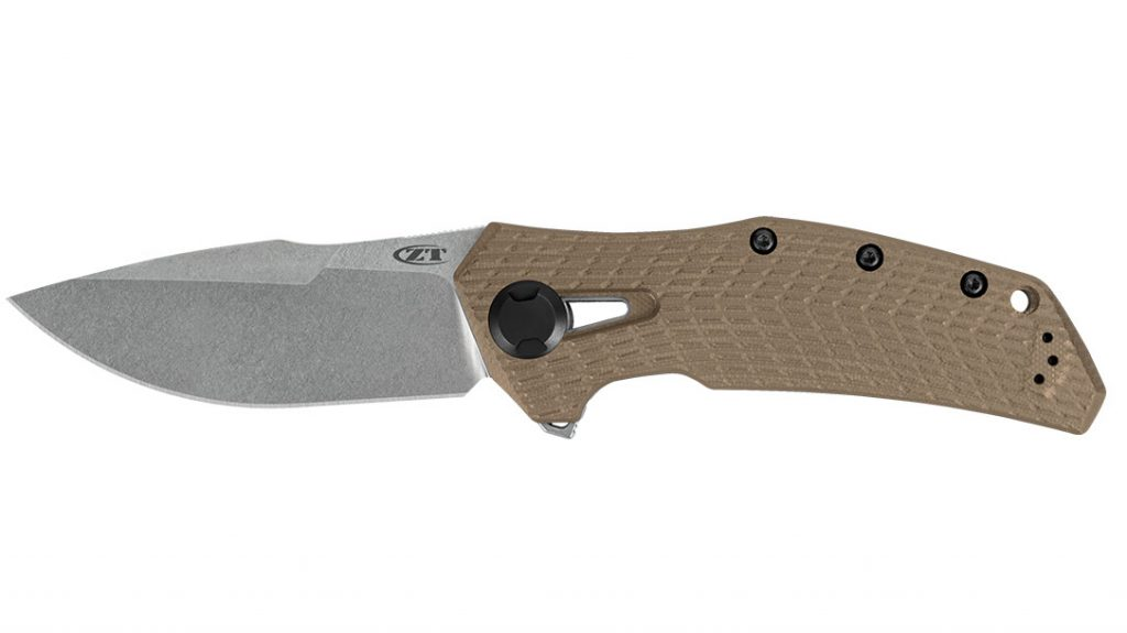 The 0308 has an overall length of 8.9 inches and weighs a beefy 6.9 ounces.
