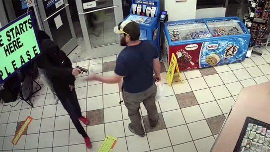 A Marine Veteran disarmed a robber in Arizona.