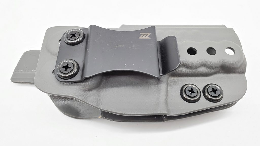 The N8 Tactical Xecutive provides adjustment for tension, cant and height.