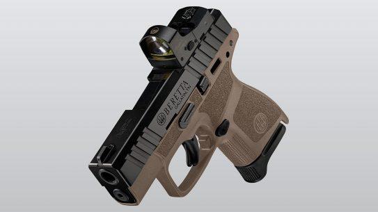 The Beretta APX A1 Carry in Flat Dark Earth.