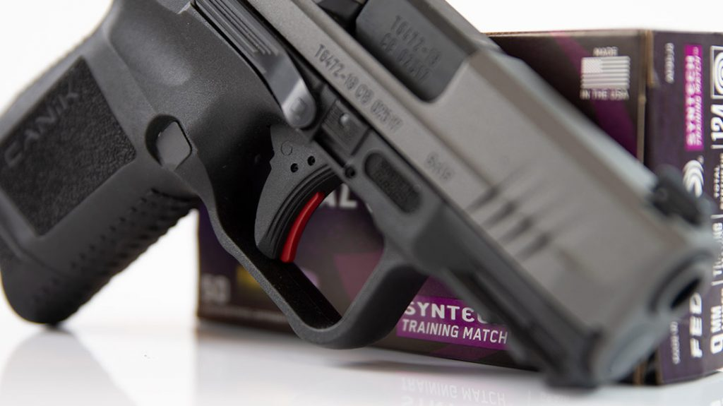 The little Canik's trigger is what sets it apart from many other striker-fired pistols on the market. The author ranks it second only to the trigger on the stock Walther PPQ.