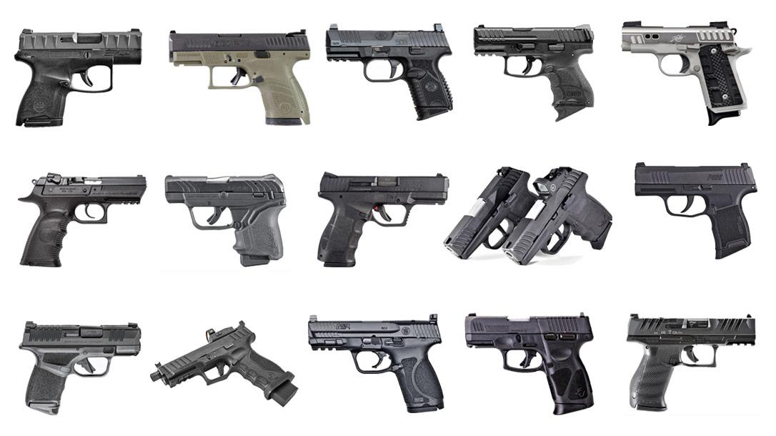 15 top EDC Pistols for 2021.
