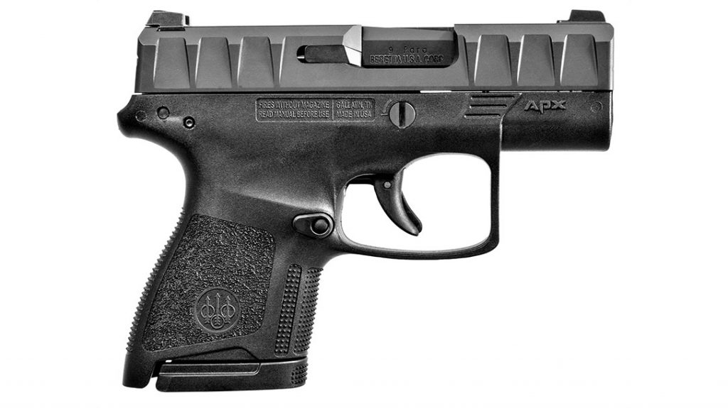 Beretta APX Carry is a solid entry in the top EDC Pistols for 2021.