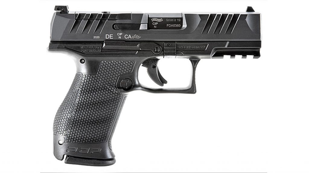 Walther PDP Compact 4-inch is the final in our list of top EDC Pistols for 2021.