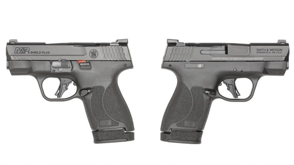 The Smith & Wesson M&P9 Shield Plus.