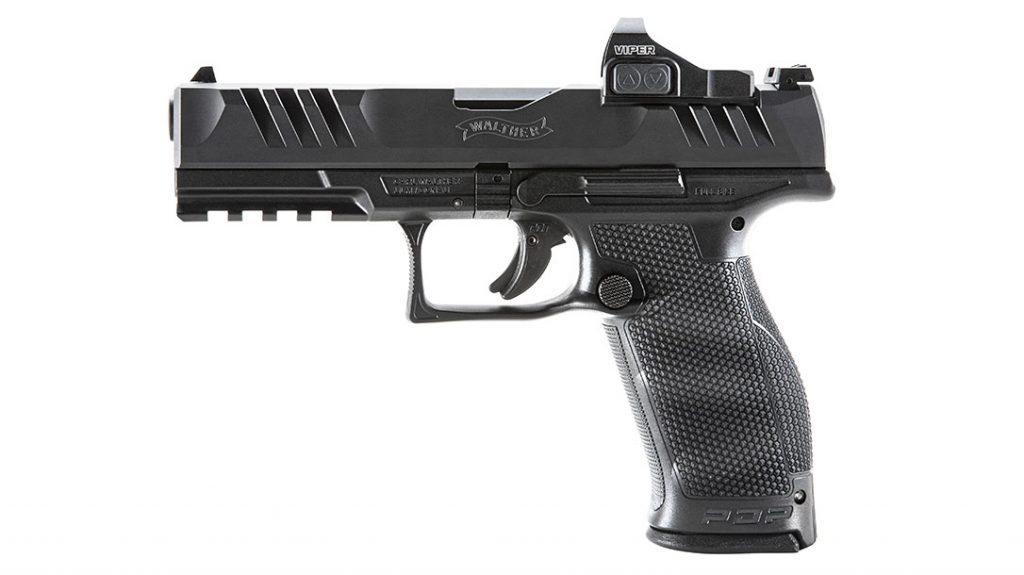 Controls on the Walther PDP are familiar and exactly where you would expect them.