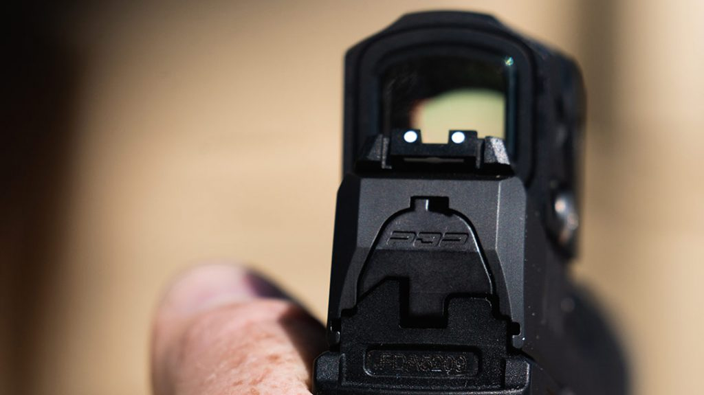 Both Walther PDP models come ready for a red-dot sight.
